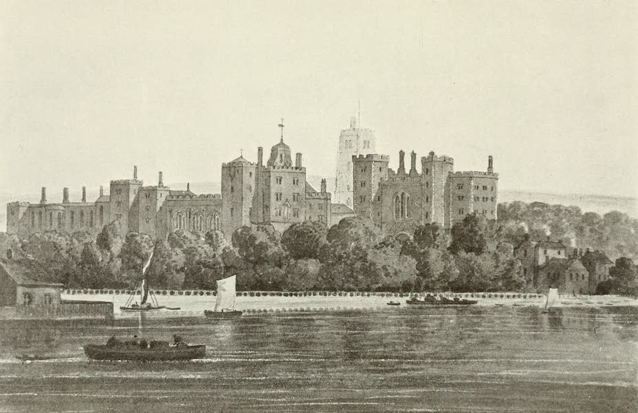 London on Thames in Bygone Days - Savoy Palace (1903)