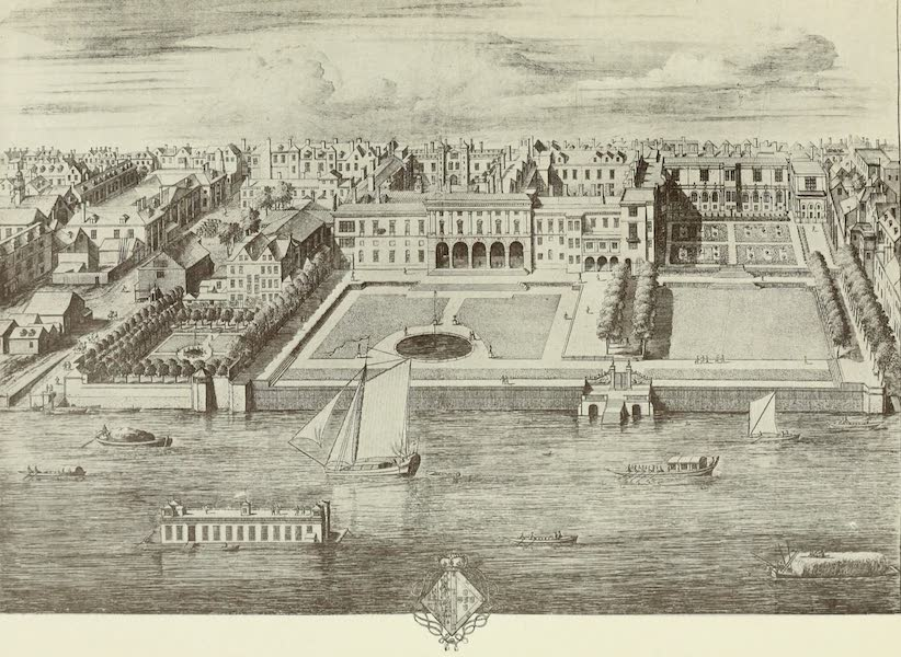 London on Thames in Bygone Days - Water-gate of York House (1903)