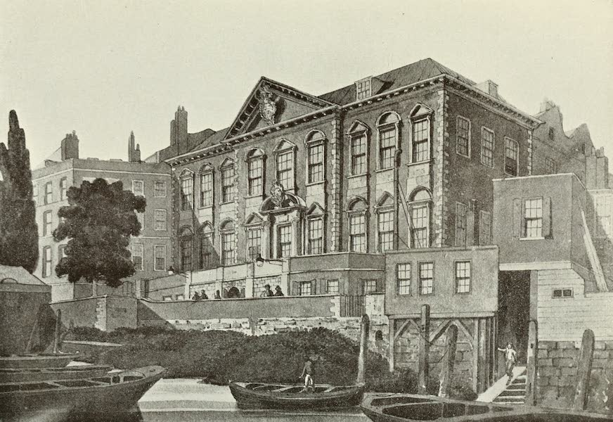 London on Thames in Bygone Days - Lambeth Palace (1903)