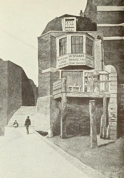 London on Thames in Bygone Days - The Custom House, designed by Sir Christopher Wren (1903)
