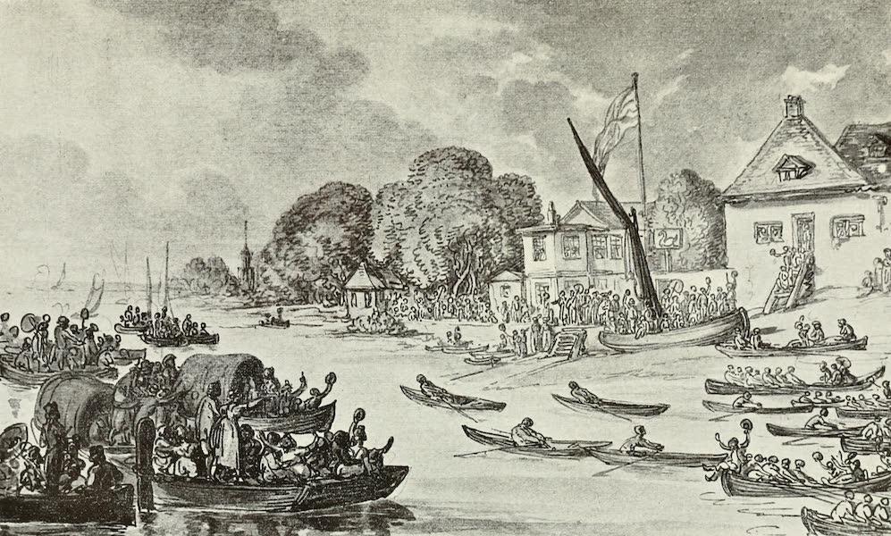 London on Thames in Bygone Days - Gun Dock (1903)