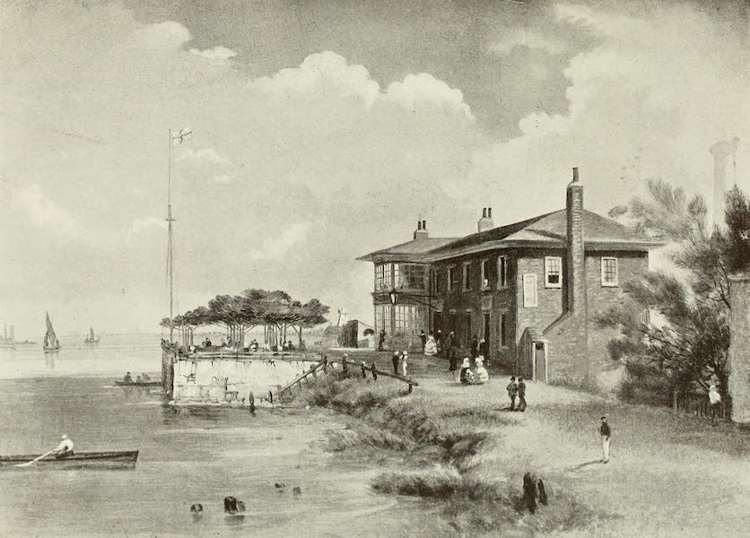 London on Thames in Bygone Days - The Old Swan at Chelsea, with the Race for Coat and Badge (1903)