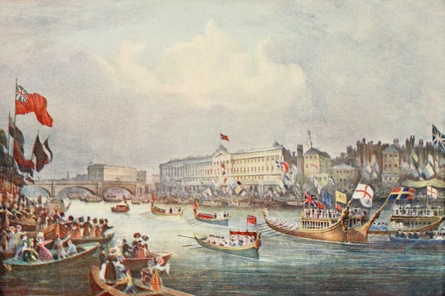 London on Thames in Bygone Days - Old Westminster Bridge (1903)