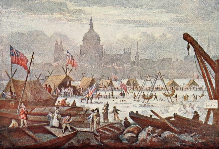 London on Thames in Bygone Days - Old Blackfriars Bridge (1903)