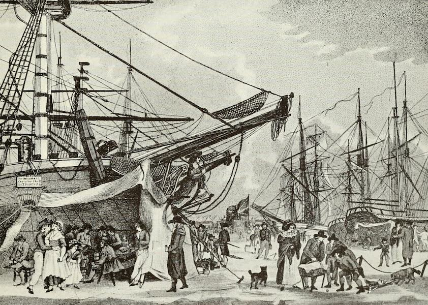 London on Thames in Bygone Days - The Frost Fair of 1789 (1903)