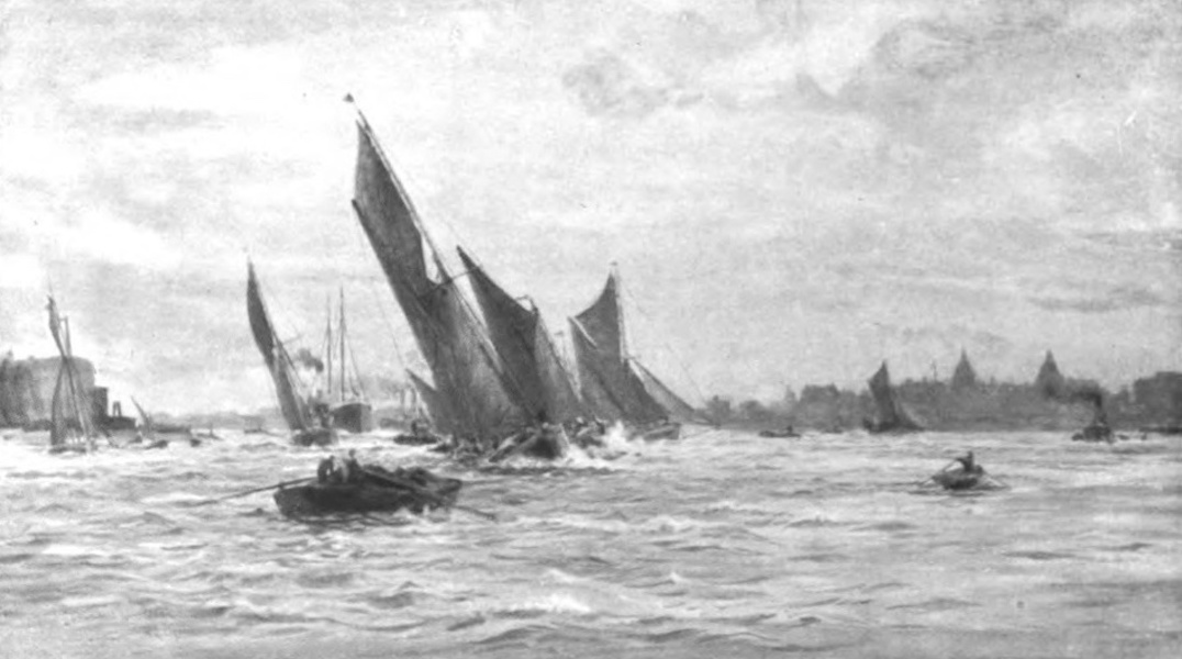 London to the Nore Painted and Described - Greenwich Hospital (1905)