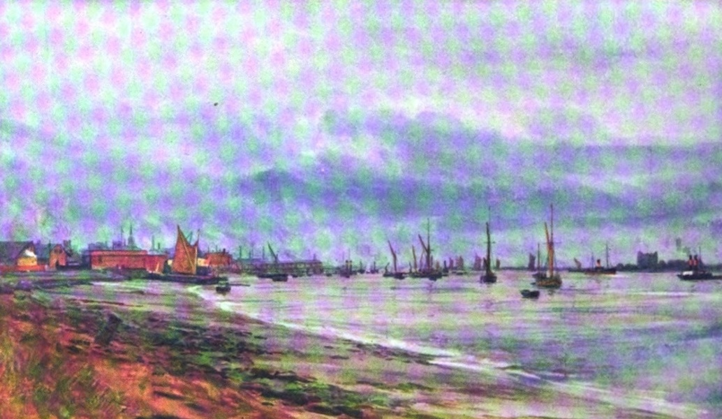 London to the Nore Painted and Described - Gravesend (1905)