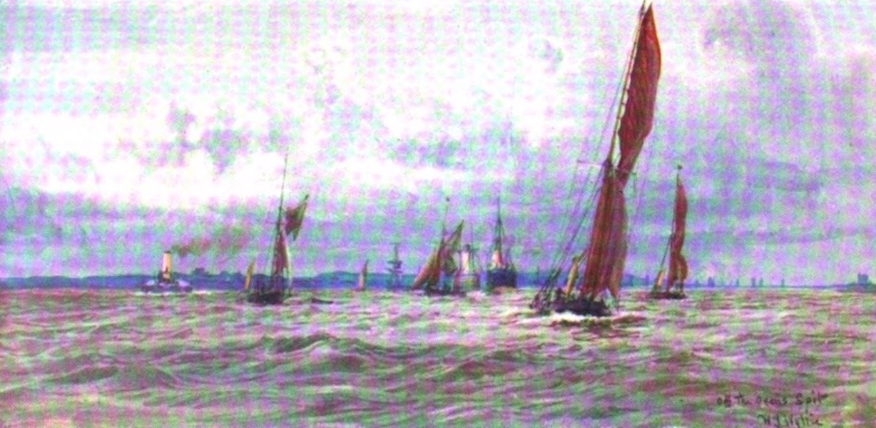 London to the Nore Painted and Described - Oven's Spit (1905)