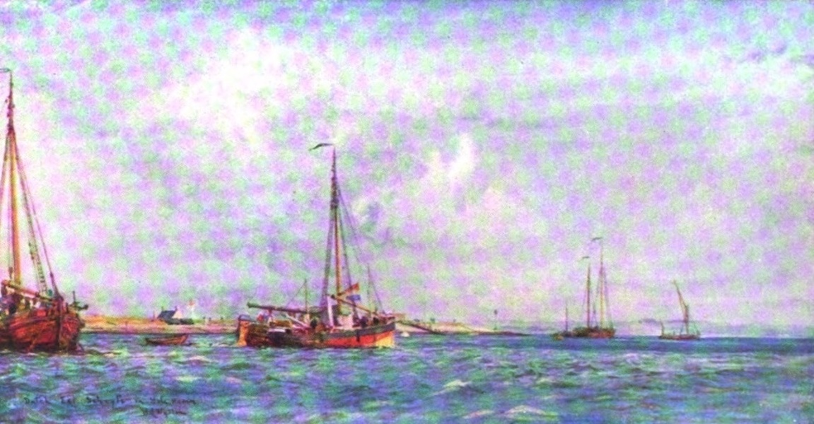 London to the Nore Painted and Described - Dutch Eel-Schuits, Hole Haven (1905)