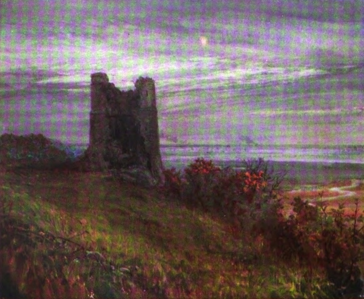 London to the Nore Painted and Described - Hadleigh Castle (1905)