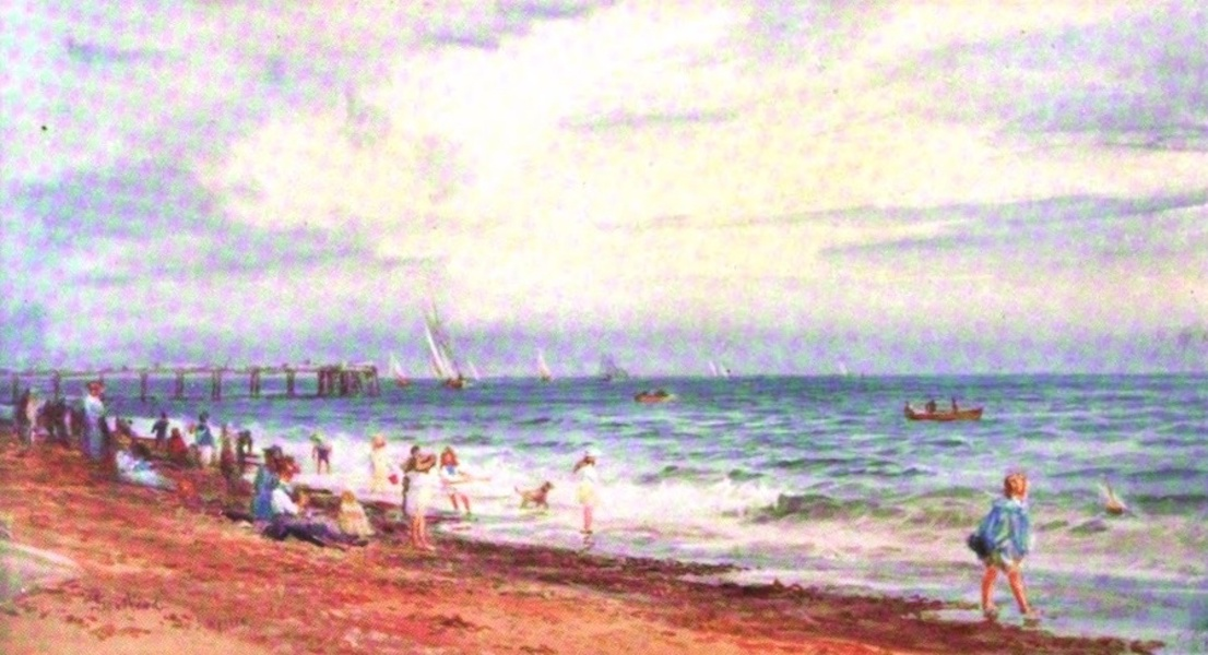 London to the Nore Painted and Described - Paddler's Southend-on-Sea (1905)