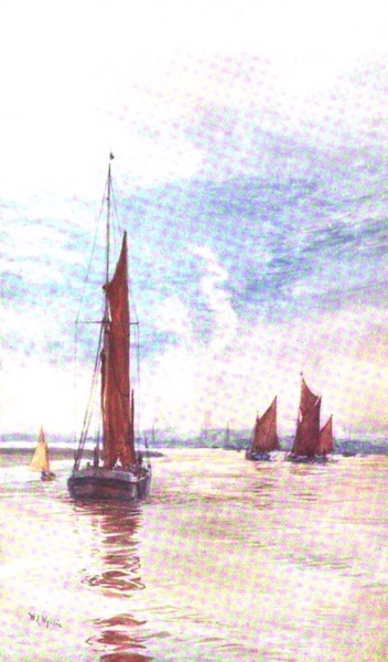 London to the Nore Painted and Described - Sovereign Reach (1905)