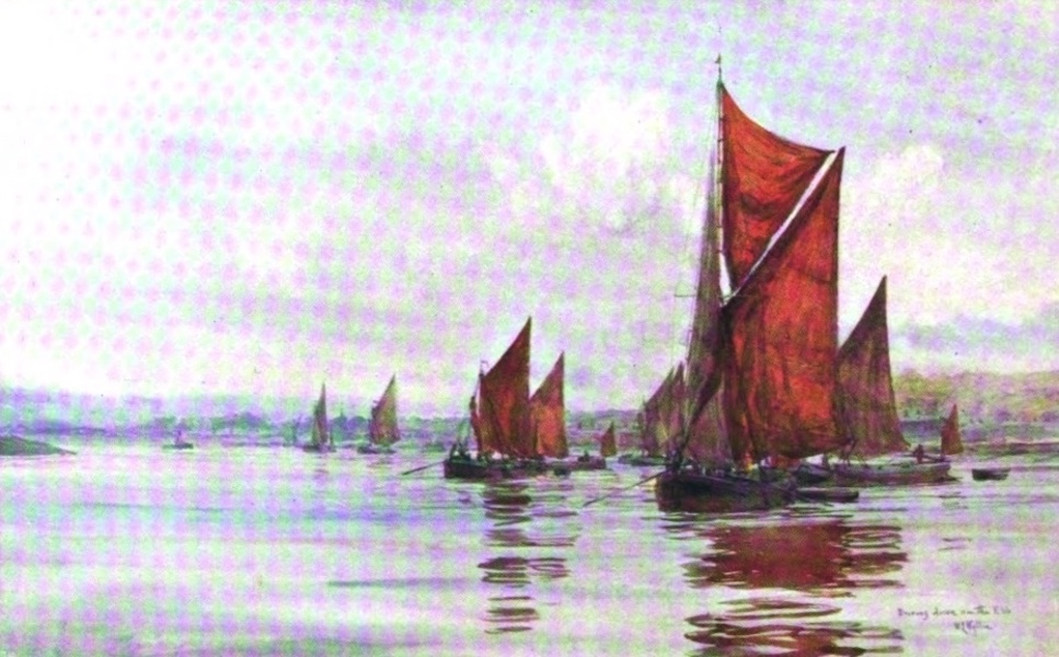 London to the Nore Painted and Described - Driving down the Ebb (1905)