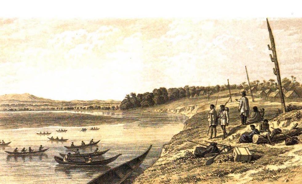 Madagascar and the Malagasy - River Hivondro (1866)