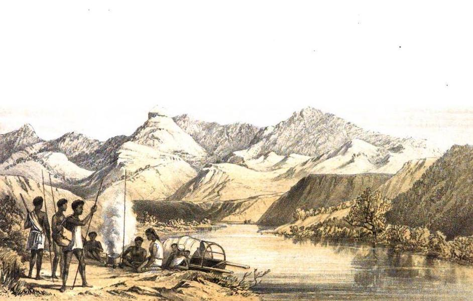 Madagascar and the Malagasy - Ferry at Andakana (1866)