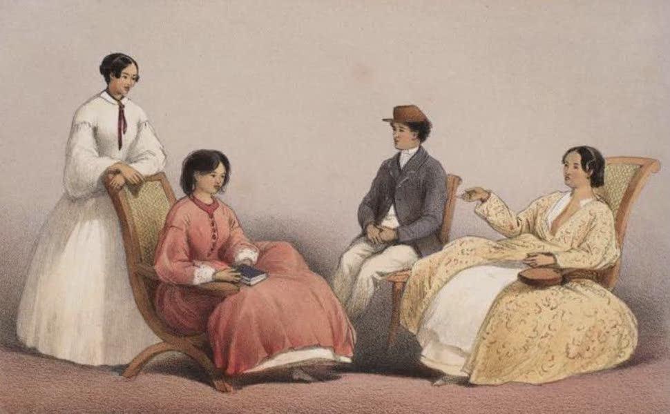 Madagascar and the Malagasy - Group of Hovas: Raketake / Razanajaza / Razanakombana / Ralefoka (1866)