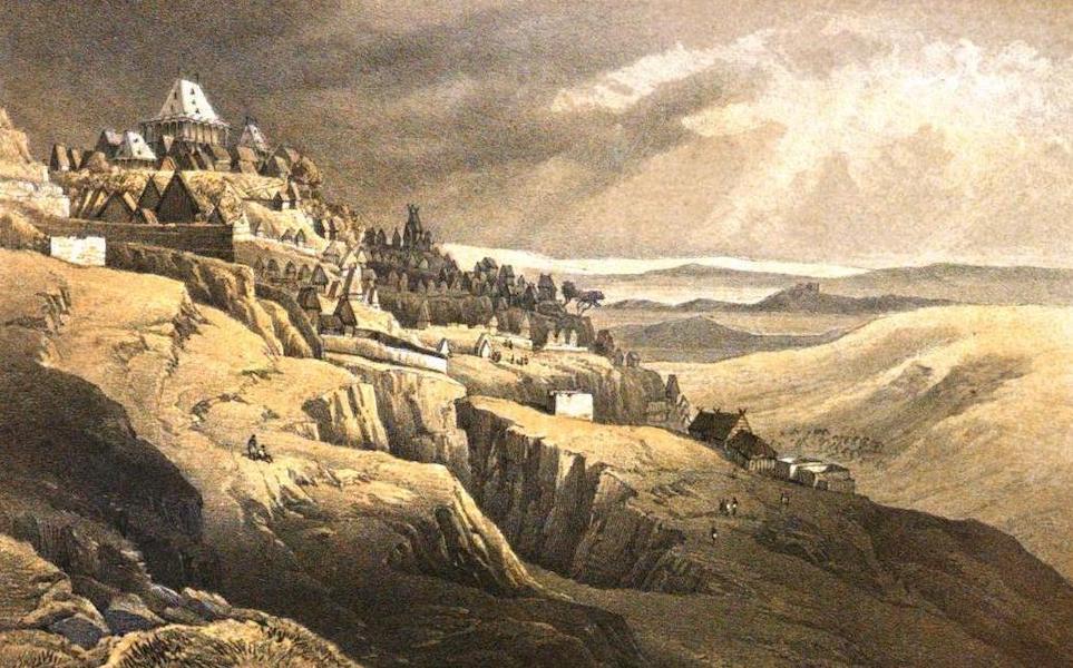 Madagascar and the Malagasy - Antananarivo from Ambohipotsy (1866)