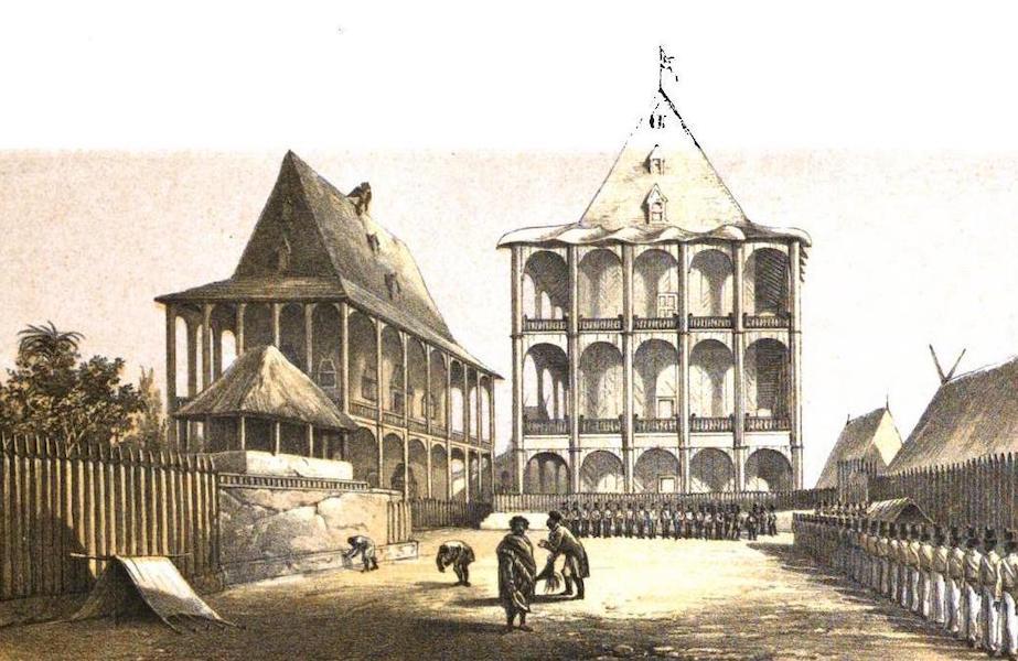 Madagascar and the Malagasy - The Palace of Anaty Rova (1866)