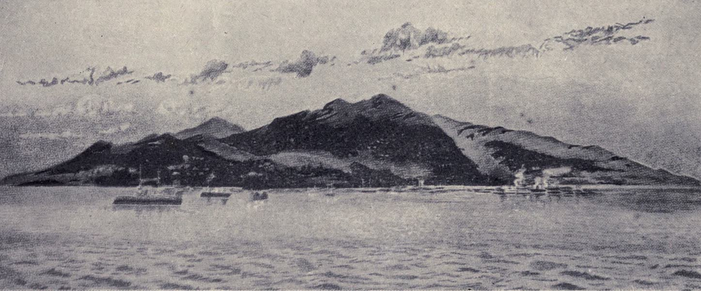 Madeira : Old and New - Madeira from the Ocean (1909)