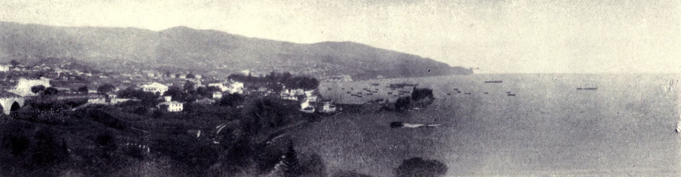 Madeira : Old and New - Funchal Bay from the West (1909)