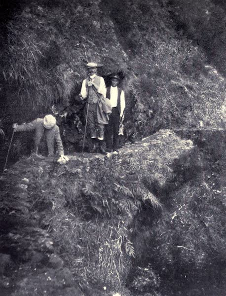 Madeira : Old and New - Levada de Joao Gomes : Dangerous Spot above a Precipice (1909)