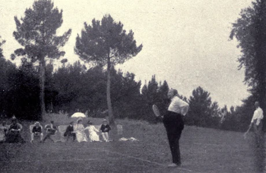 Madeira : Old and New - The Late King of Portugal playing tennis at the Palheiro (1909)