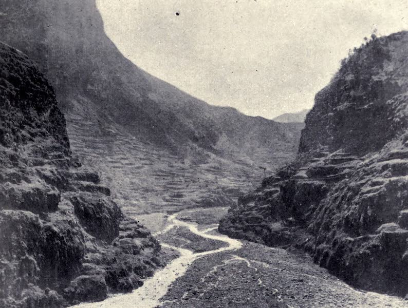 Madeira : Old and New - A Typical Madeira Valley (1909)
