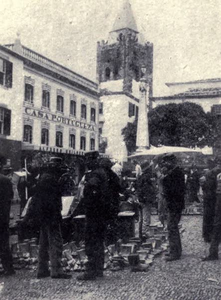 Madeira : Old and New - The Boot Market (1909)