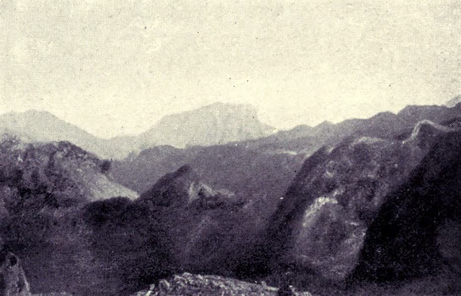 Madeira : Old and New - View from Pico Arreiro (1909)