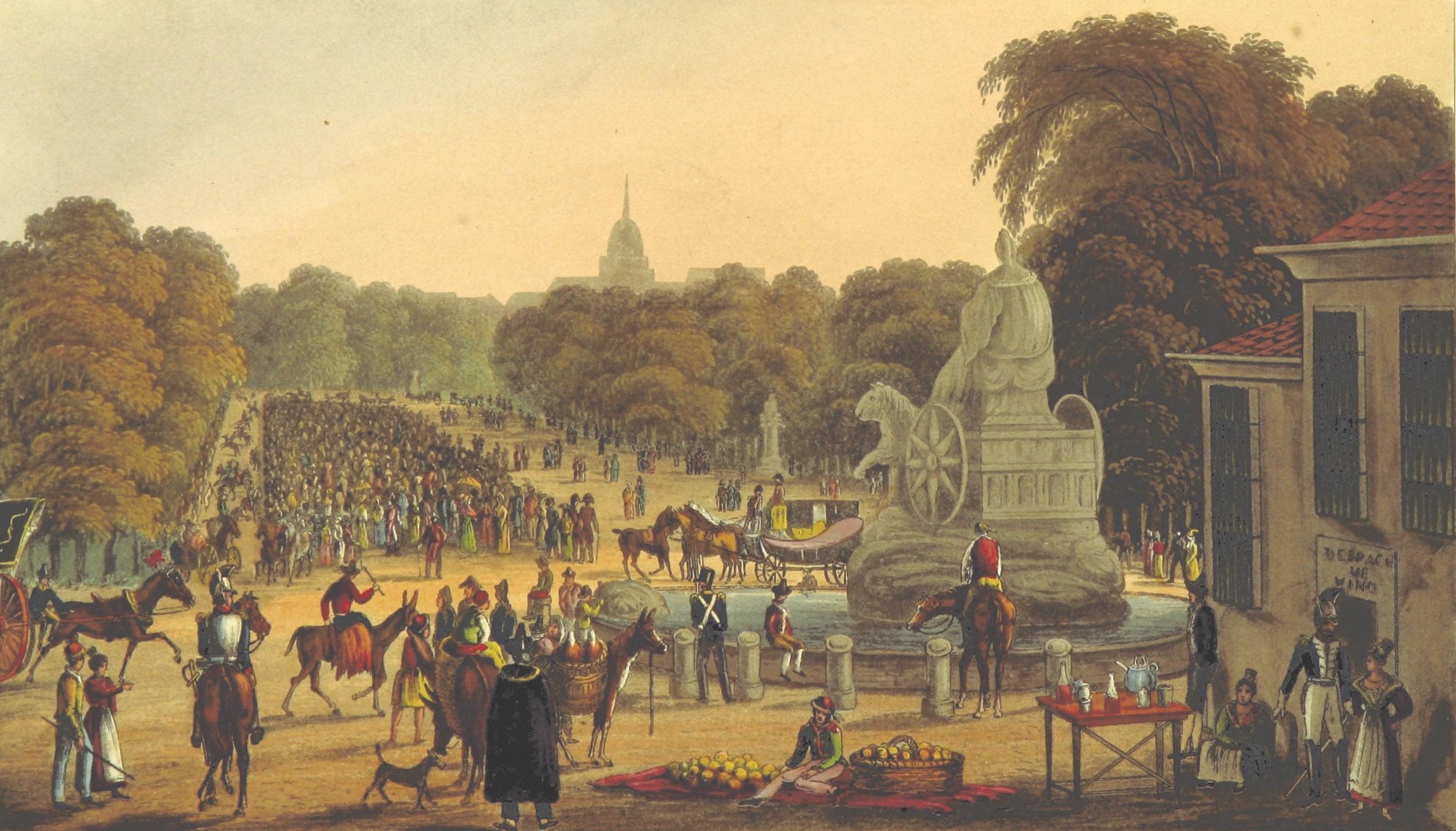 Madrid in 1835 - Frontispiece - Volume 1 (1836)