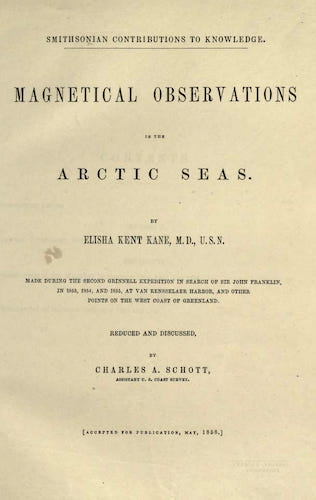 English - Magnetical Observations in the Arctic Seas