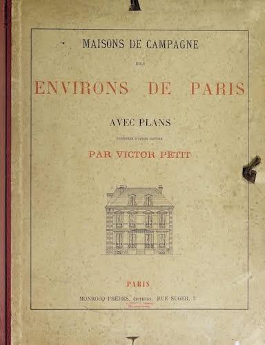 Aquatint & Lithography - Maisons de Campagne des Environs de Paris