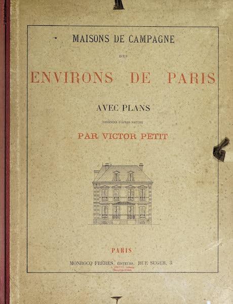 Maisons de Campagne des Environs de Paris - Front Cover (1850)