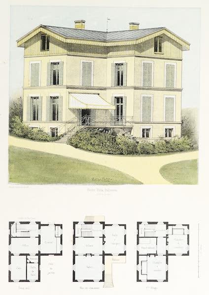 Maisons de Campagne des Environs de Paris - Petite villa italienne (1850)