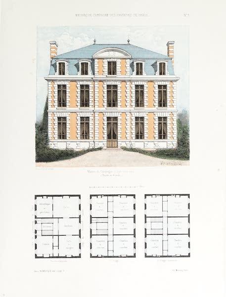Maisons de Campagne des Environs de Paris - Maison de campagne (genre Louis XIII) (1850)