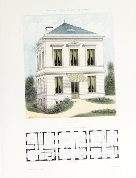 Maisons de Campagne des Environs de Paris - Petite maison de campagne (1850)