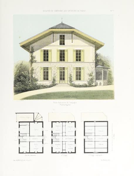 Maisons de Campagne des Environs de Paris - Petite habitation bourgeoise (1850)