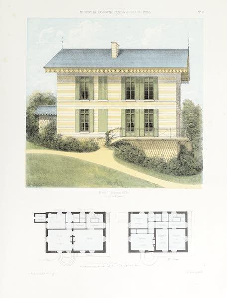 Maisons de Campagne des Environs de Paris - Maison bourgeoise, (genre suisse) (1850)