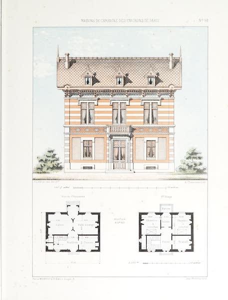 Maisons de Campagne des Environs de Paris - Petite maison (genre suisse) (1850)