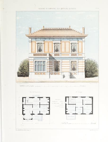 Maisons de Campagne des Environs de Paris - Habitation de campagne (environs de Marseille) (1850)