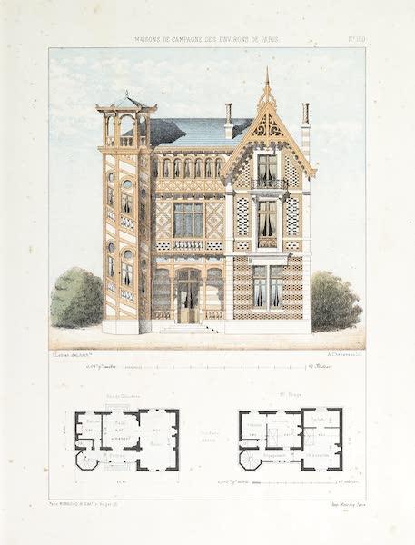 Maisons de Campagne des Environs de Paris - Maison (genre champêtre) (1850)