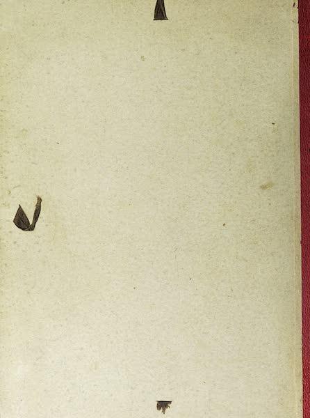 Maisons de Campagne des Environs de Paris - Back Cover (1850)