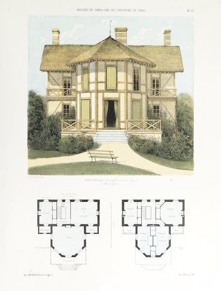 Maisons de Campagne des Environs de Paris - Maison de campagne (genre rustique) (1850)