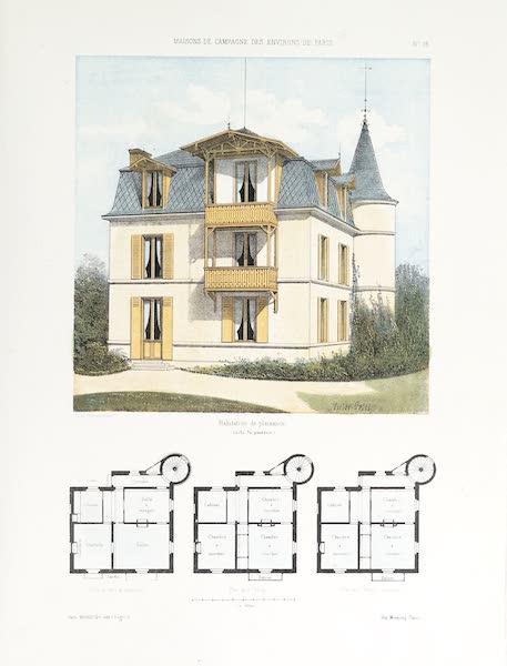 Maisons de Campagne des Environs de Paris - Habitation de plaisance (1850)