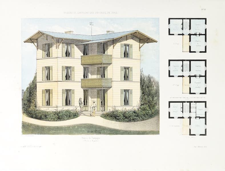 Maisons de Campagne des Environs de Paris - Maison de campagne (1850)