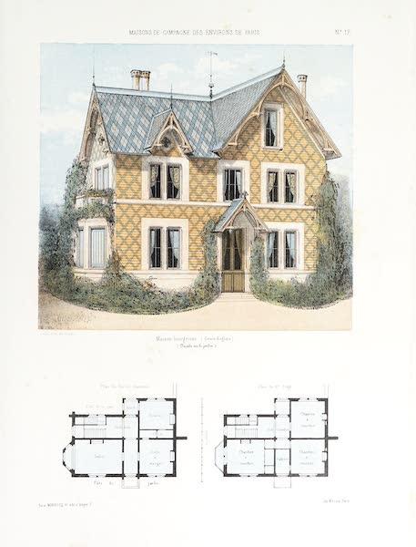 Maisons de Campagne des Environs de Paris - Maison de campagne (genre anglais) (1850)