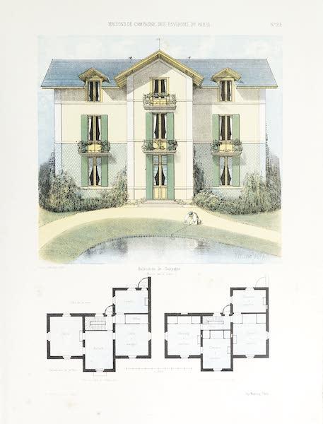 Maisons de Campagne des Environs de Paris - Habitation de campagne (1850)