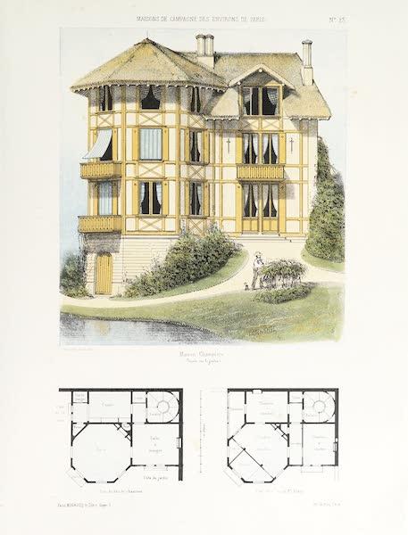 Maisons de Campagne des Environs de Paris - Maison champêtre (genre chalet) (1850)