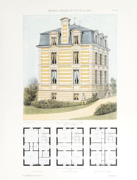 Maisons de Campagne des Environs de Paris - Maison bourgeoise (genre Louis XIII) (1850)