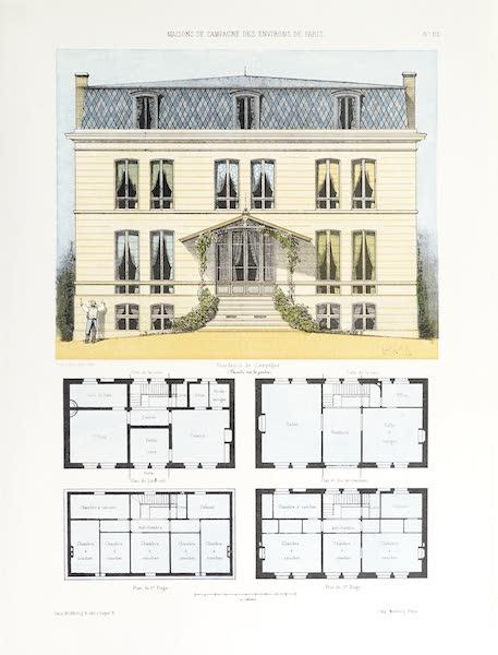Maisons de Campagne des Environs de Paris - Résidence de campagne (1850)
